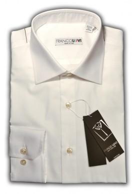 Camicia Uomo Bianca Collo Mezzo Francese