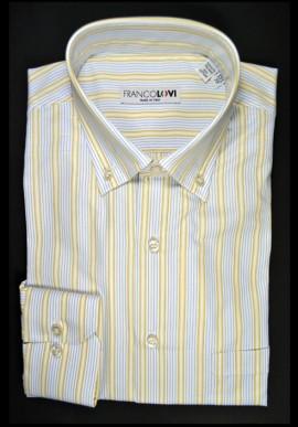 Camicia Uomo Rigato Multicolor